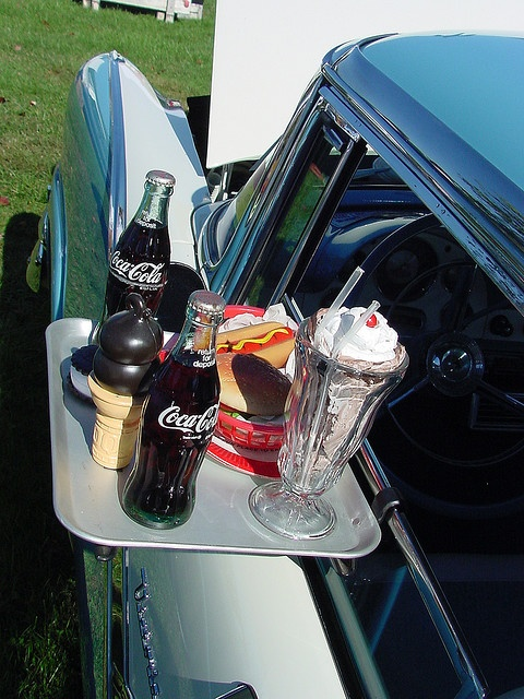 I still dream of going to a drive thru and watching a movie with someone I will cuddle up as we enjoy it. Though that order will be complete with a little bourbon mixed with the coke. Smiling...