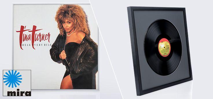 Bilderrahmen für Vinyl-Schallplatten und Cover