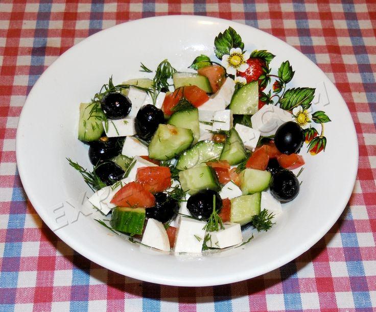 Рецепт греческого салата и другие рецепты