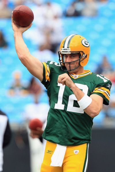 Go, Pack, Go!  Aaron Rogers is flipping awesome.