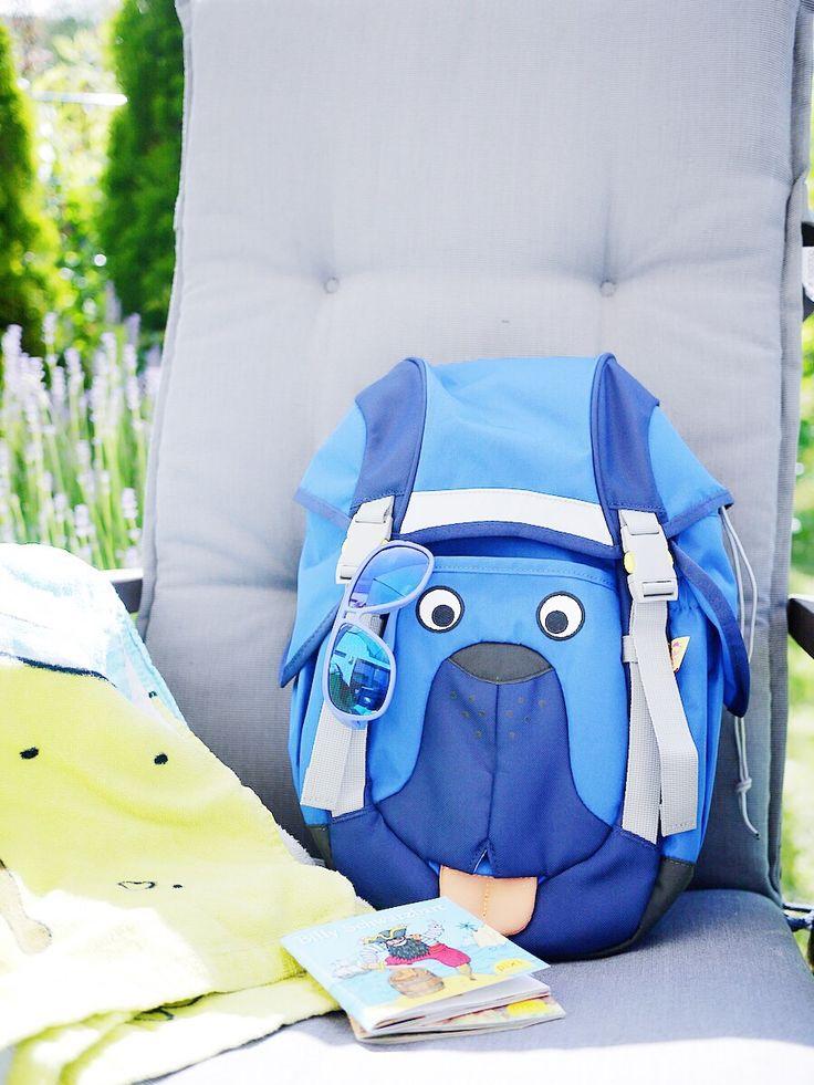 Wanderrucksack für Kinder! Ergonomisch mit vielen tollen Extras! http://www.lulusstern.com/2016/06/Was-Kinder-brauchen-am-Strand.html #affenzahn #kinder #kinderrucksack #Rucksack