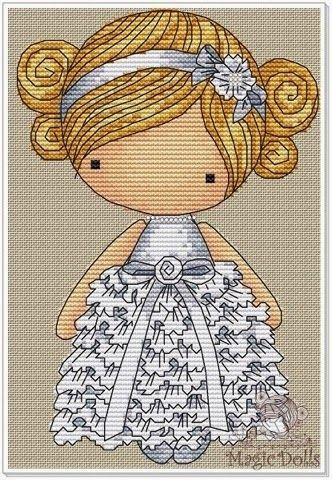 magicdolls: Cross Stitch/Вышивка: