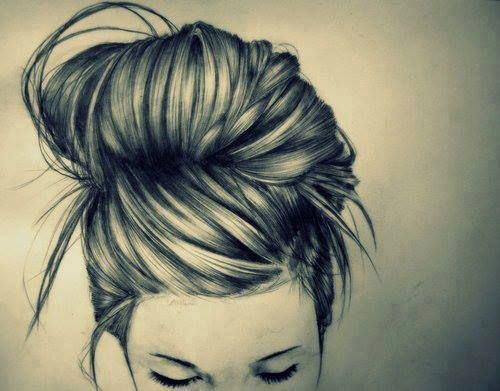 Amazing hair sketch