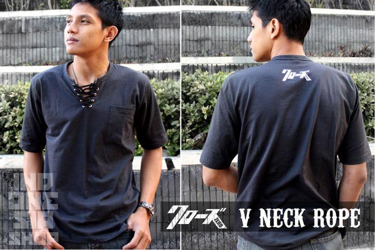 Crows Explode Fashion: T-shirt V-neck Genji Crows zero