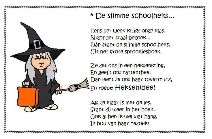 * Versje: De slimme schoolheks...