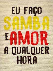 SAMBA E AMOR