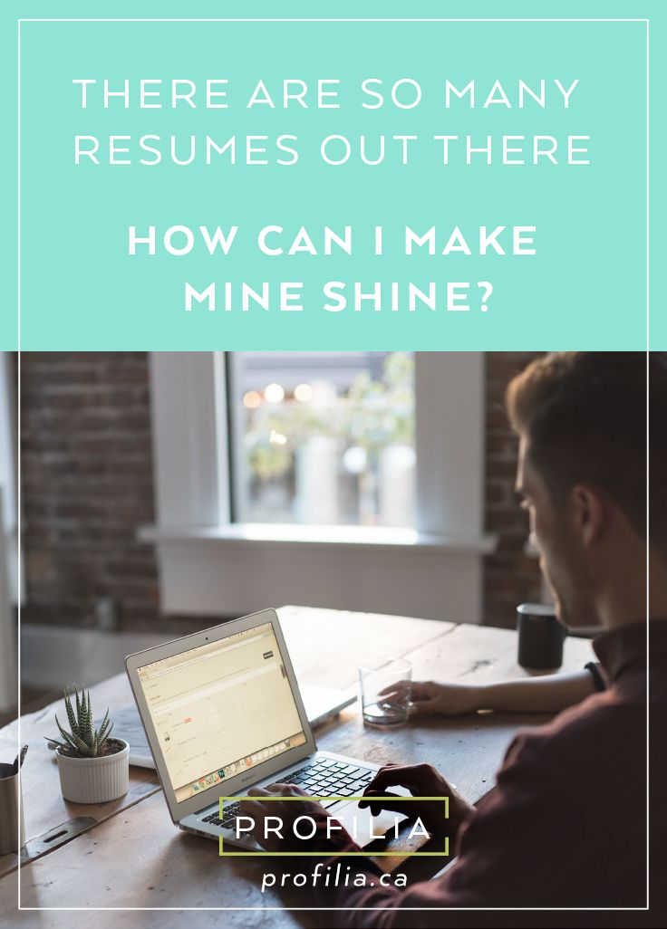 how can i make my resume shine use this marketing tool wisely find out