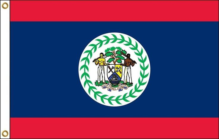 Belize Flag | 3' x 5'
