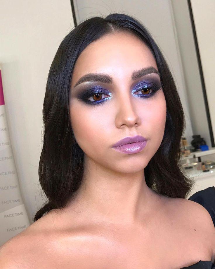 "787 Likes, 20 Comments - Школа макияжа FaceTime СПб (@sofia_baburina) on Instagram: ""Захотелось сочетания странных оттенков. Макияж с индивидуального занятия  #cosmetics #fashion…"""