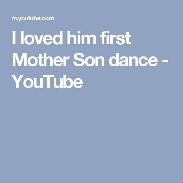 The 25 Best Mother Son Dance Ideas On Pinterest