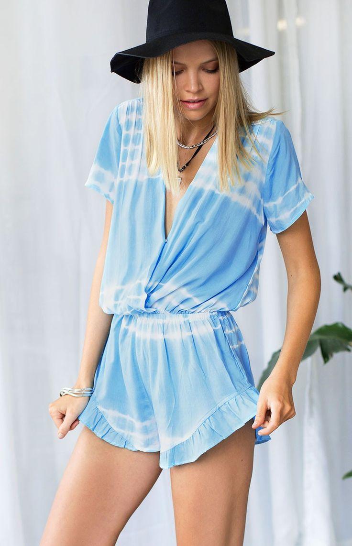 Freelance Playsuit Cloudland Tie Dye | Beginning Boutique #BBFEST #beginningboutique