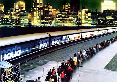1967 The Centennial Train starts its cross-country tour in Victoria, British Columbia. The travelling museum celebrates the 100 years since Confederation.
