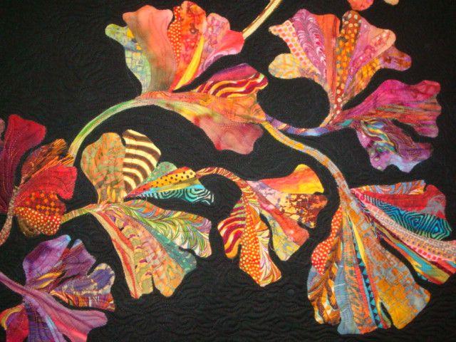 colorful Gingko leaves