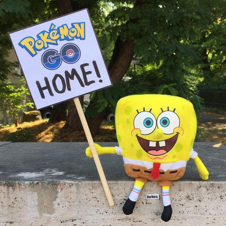 Pokémon Go Home!  #humor #spruch #sprüche #lustig #cool #witzig #pokémon #pokémongo #pokemon #pokemongo #spiel #game #spongebob #barbara #babaraklebt