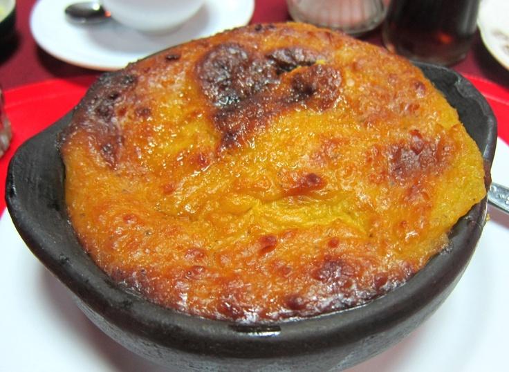Pastel de Choclo (corn and meat pie) - El Criollíto - Mercado Municipal de Temuco (Mercado Modelo)