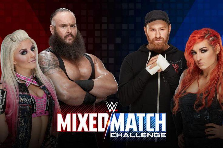 WWE Mixed Match Challenge results, Week 3: Braun Strowman & Alexa Bliss vs. Sami...