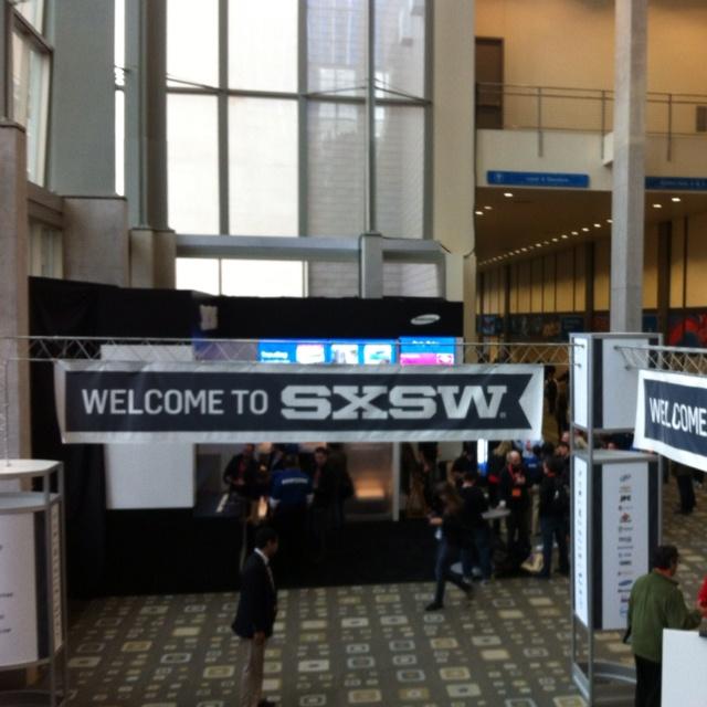 Hello #SXSW! we are ready to start!