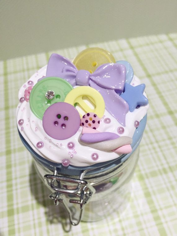 Unique Kawaii Decoden Jars filled with all types by RubyandRingos