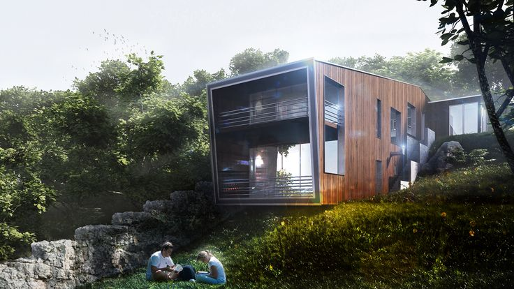 A private house in natural surroundings VIZ