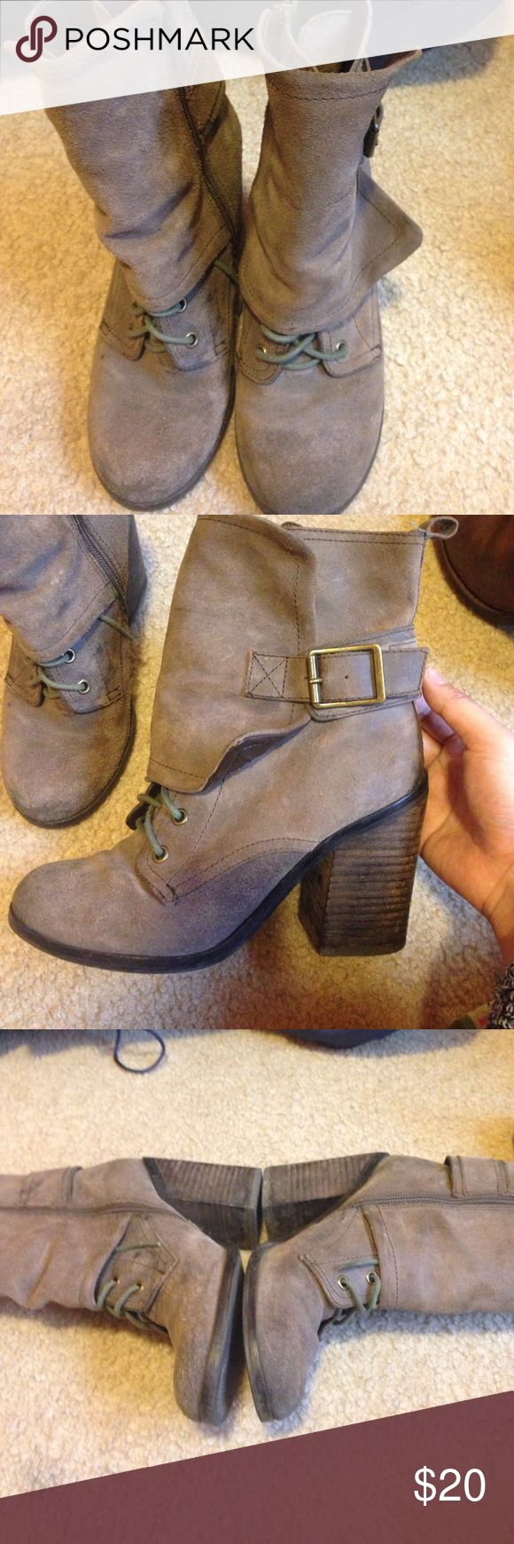 Fergie boots size 8 Brown Fergie boots size 8 comfortable heel Fergie Shoes Heeled Boots