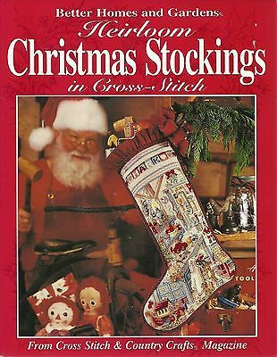 Better Home And Gardens Christmas Ideas 38 best christmas decor images on pinterest christmas deco better homes gardens heirloom christmas stockings in cross stitch patterns workwithnaturefo