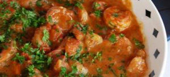 Sauté de crevettes tandoori - Recettes Cookeo