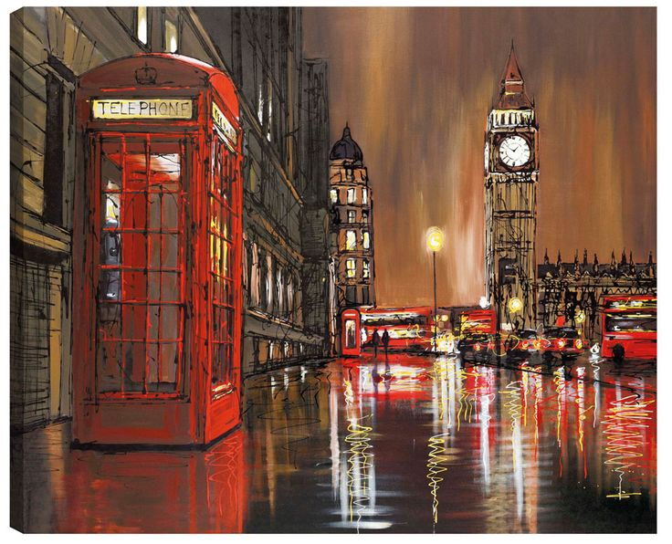 Golden Nights – 2012 - The Paul Kenton Collection - Art - Castle Galleries