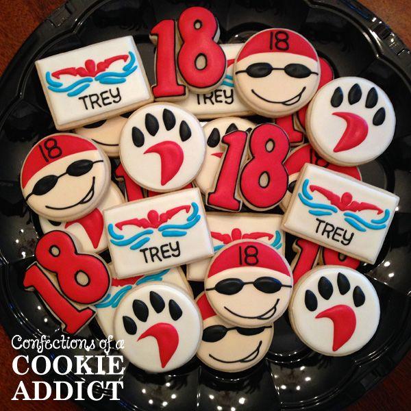 Swimmer Cookies