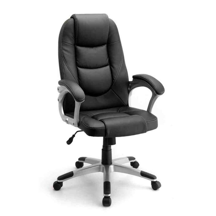 41 best leather office chair images on pinterest leather office chairs barber chair and bureaus. Black Bedroom Furniture Sets. Home Design Ideas