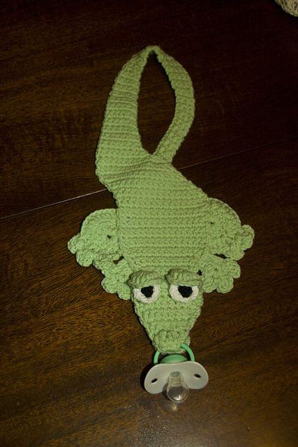 Ravelry: Baby Alligator Bib pattern by Annie Potter