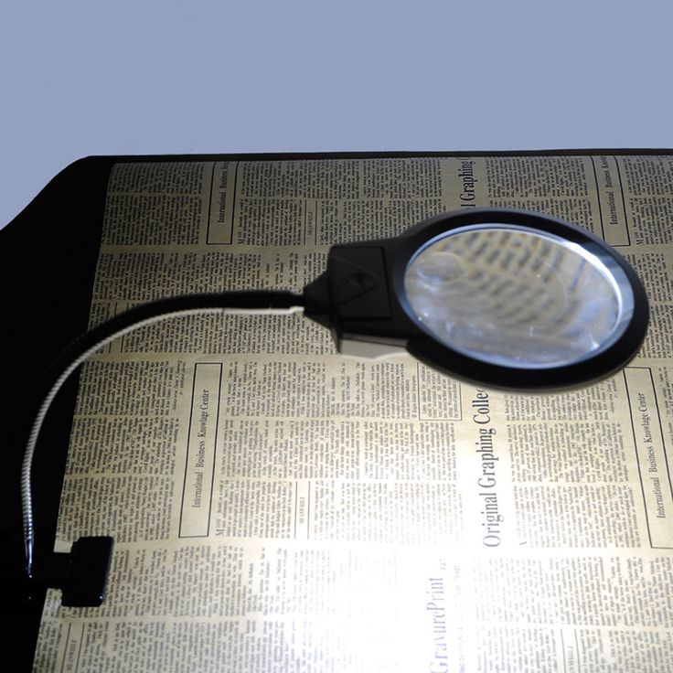 The New 3Times The Clip-on A  Magnifying Led Illuminating desk  Light Tabletop  #Unbranded