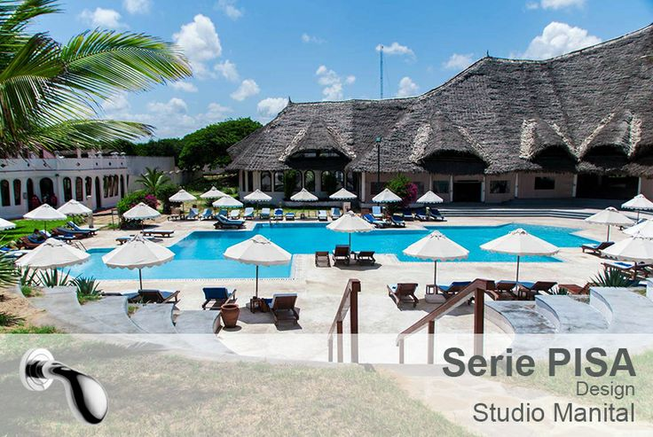 Garoda Resort. Located inside the Watamu marine park, in Kenya, this is the ideal destination for anyone seeking a totally relaxing holiday in contact with nature. Highly accessorized, the building fits in perfectly with the surrounding environment.