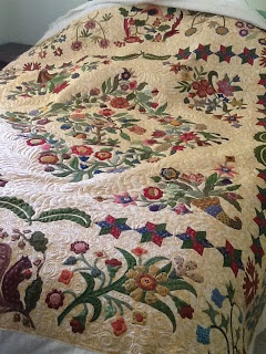 Mary Brown quilt by Merri Garton via Katrina's quilting blog -WOW!