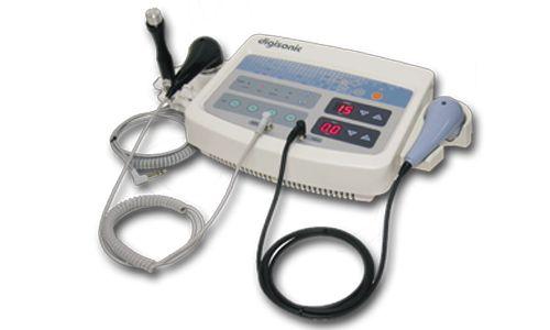 Alat Fisioterapi Ultrasound dengan 3 buah tranduser 1 & 3 MHz