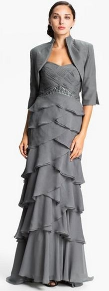 Gray Mothers Dresses