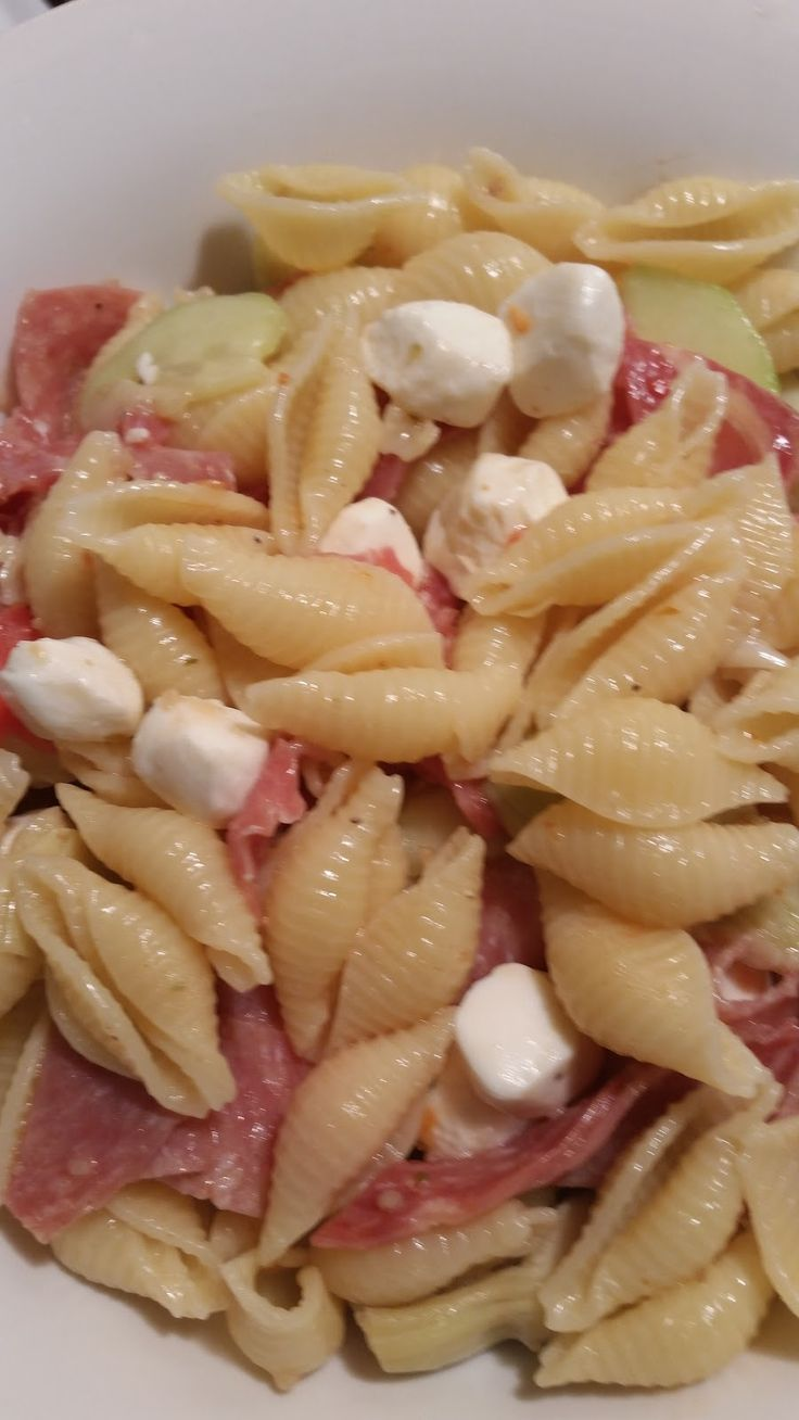 To make a meal fast and delicious   this salad will be on your recipe card.   SIMPLE THREE MEAT ANTI-PASTA SALAD   has three italians sty...