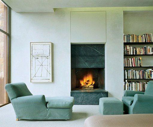 soapstone fireplace | private residence | stephen bucchieri | santa fe