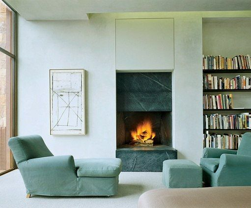 soapstone fireplace | private residence | stephen bucchieri | santa fe