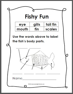 labeling of of a fish body worksheets releaseboard free printable worksheets and activities. Black Bedroom Furniture Sets. Home Design Ideas