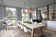 Rénovation et décoration d'une maison à Knokke, Nancy Geernaert - Côté…