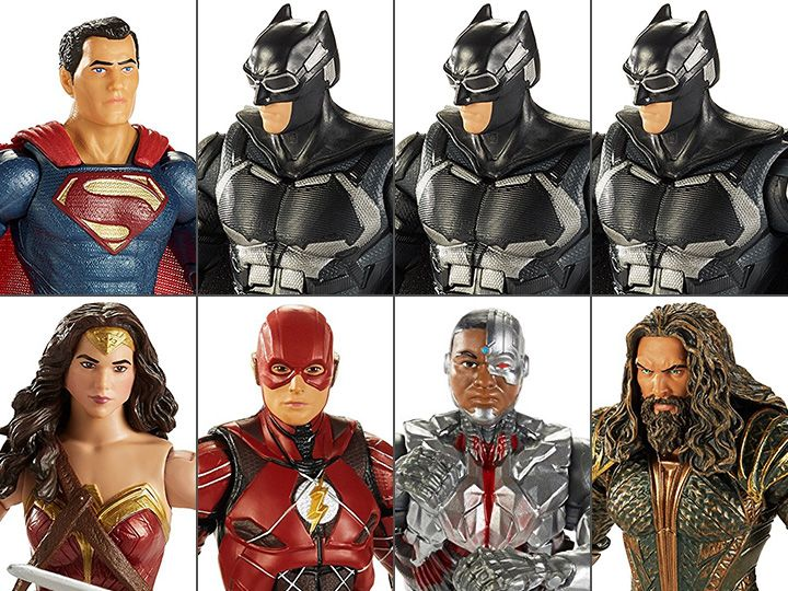 #transformer justice league multiverse wave 1 collect & connect steppenwolf - case of 8