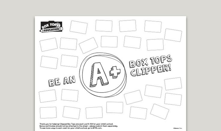image about Printable Box Tops Collection Sheets called 100+ Box Ultimate Choice Sheet Template Printable yasminroohi