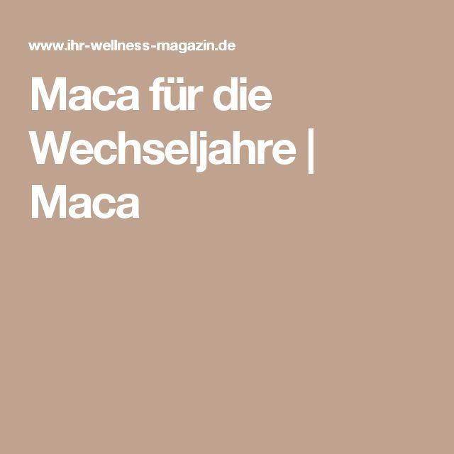 Maca für die Wechseljahre | Maca