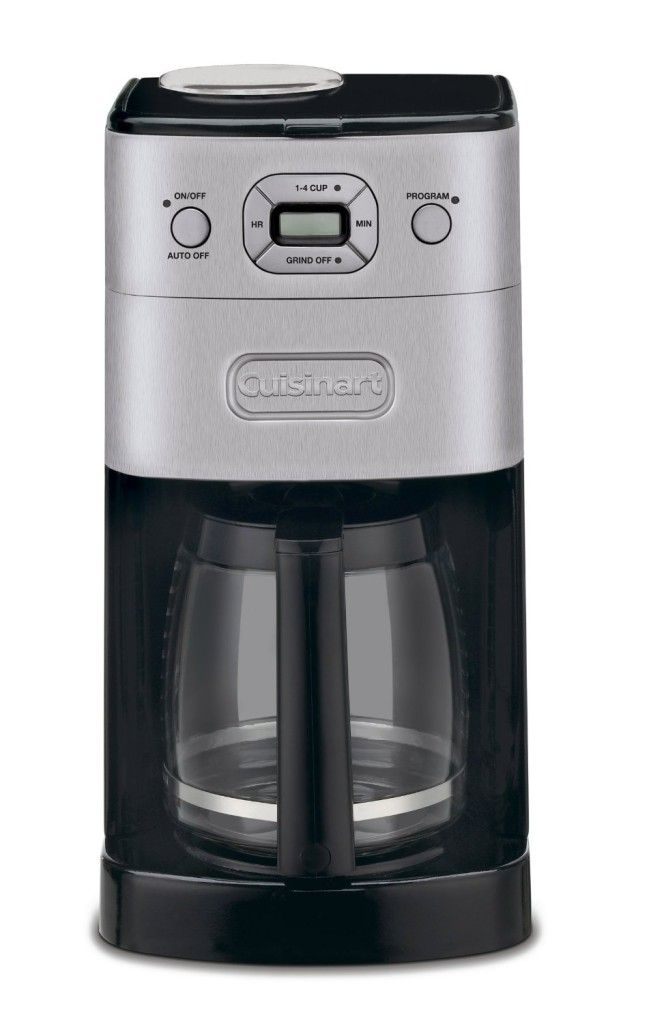 Cuisinart DGB Grind And Brew 12 Cup Automatic Coffeemaker Brushed Metal  86279024183