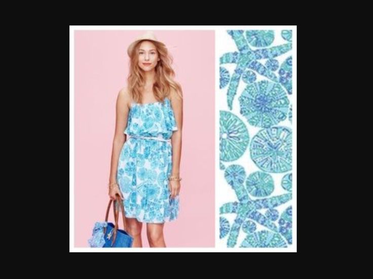🐳🐬 Lilly Pulitzer Target Dress SEA URCHIN FOR YOU 16 Blue Flounce XXL🐬🐳 #LillyPulitzer #BeachDress #Casual