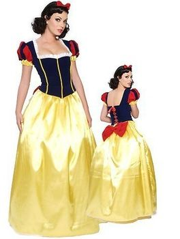 Adult Bell Snow White Cosplay Princess Costumes Fairy Tale Costume Dress Gown Halloween costumes for women  sc 1 st  Pinterest & 129 best Costumes Fairy Tale images on Pinterest | Wonderland Ideas ...