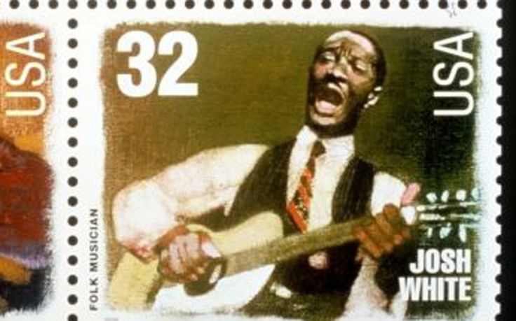 Josh White was commemorated in a 32-cent stamp in 1997 as part of the Legends of American Music series