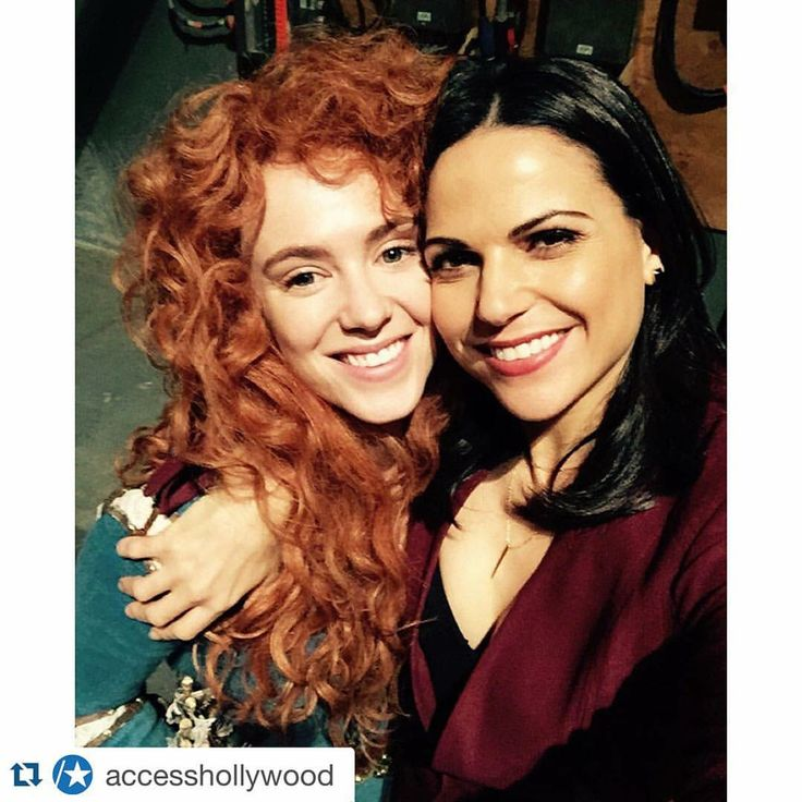 Lana and Amy (Regina and Mereda). Merida is the best character... well after Elsa and Anna from last season lol