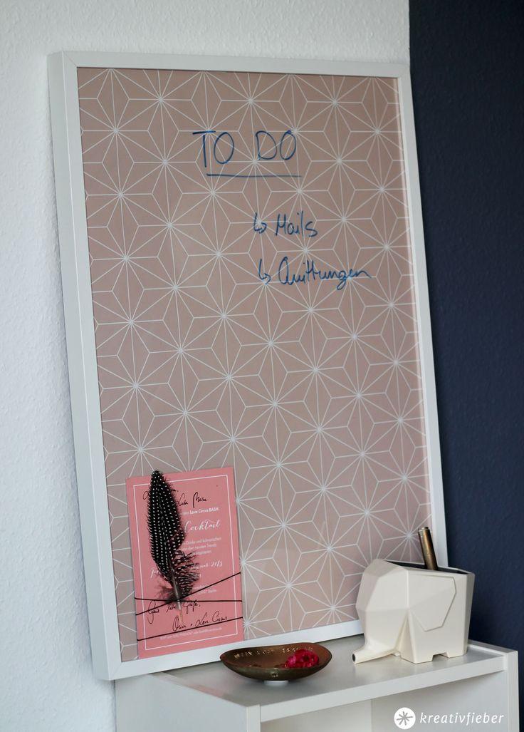 DIY-Whiteboard-Alternative - Nie mehr Zettelchaos - günstige Whiteboard Alternative für To Do Listen