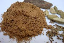 How to Make Ras El Hanout with video link. Spices are ground ginger, cardamon, mace, cinnamon, allspice, coriander seeds, nutmeg, tumeric, black and white pepper, cayenne pepper, anise seeds, cloves,